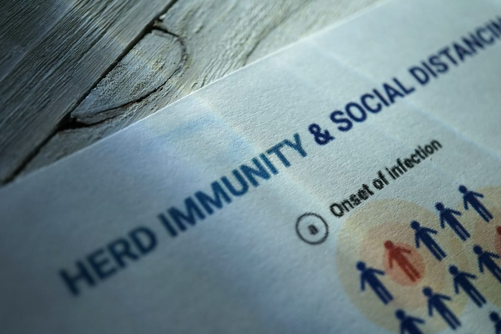 herd immunity and social distancing
