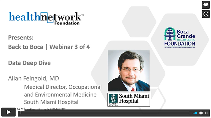 Video Preview of 2nd webinar; with Allan Feingold, MD; title: Data Deep Dive