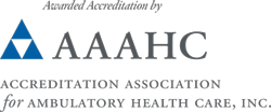 Awarded Accreditation by Accreditation Association for Ambulatory Health Care, Inc.