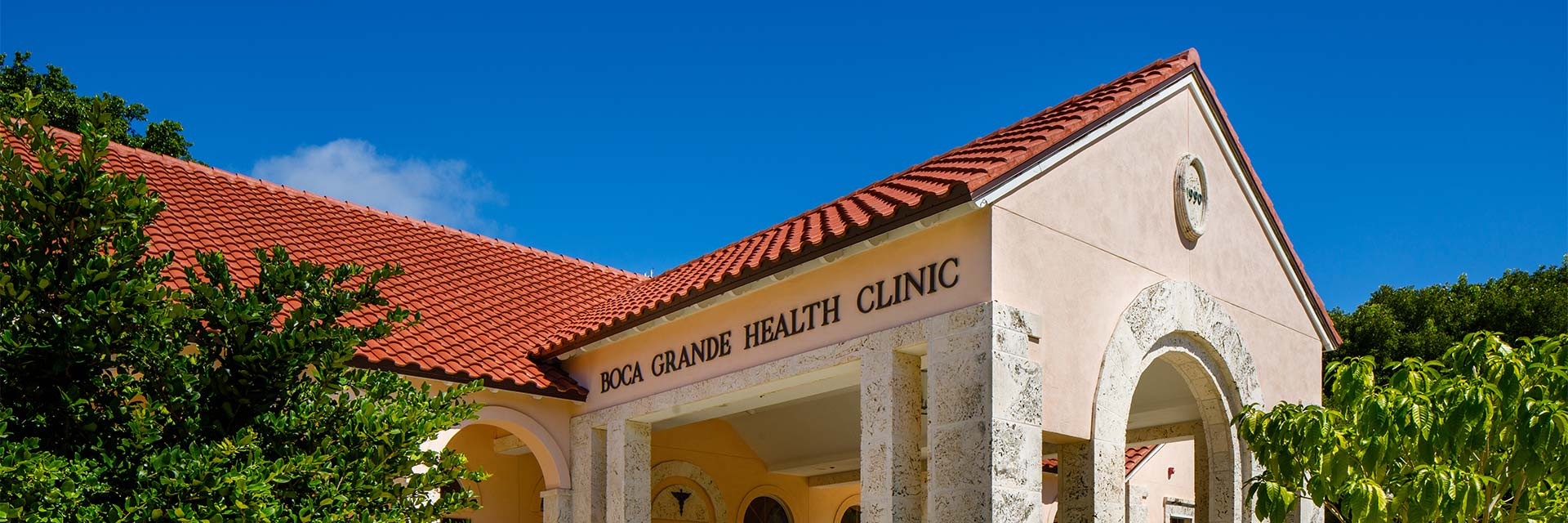 Boca Grande Health Clinic building side view
