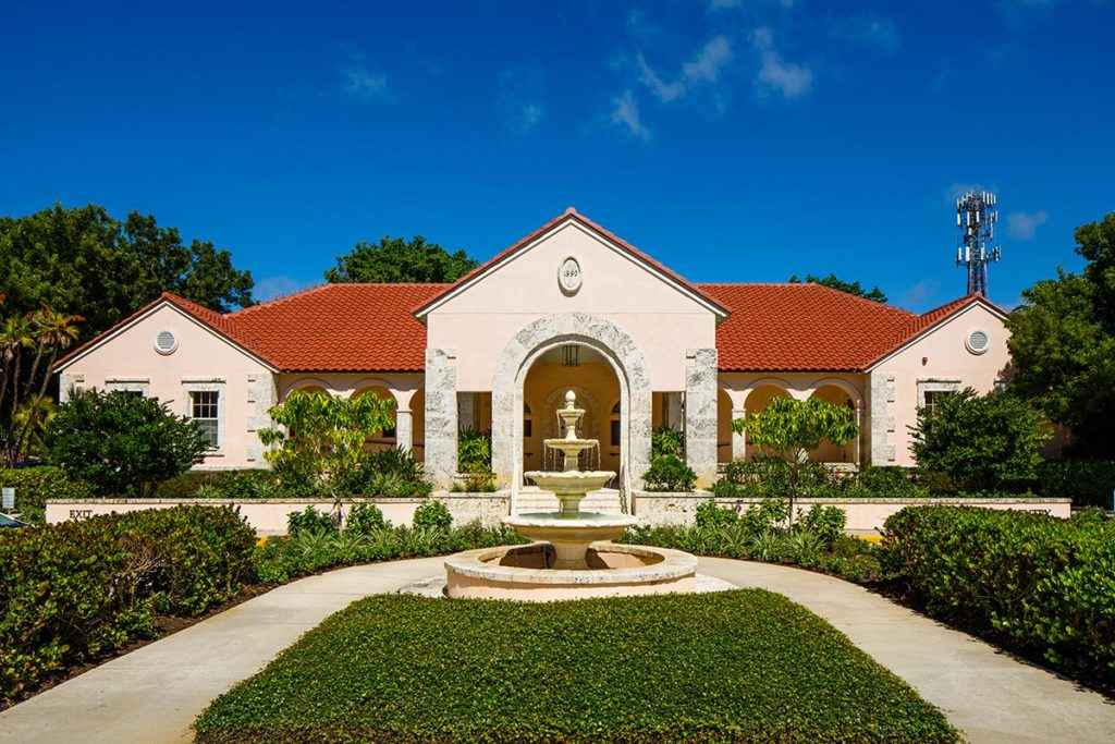 The Boca Grande Health Clinic building