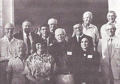 Clinic board of directors on opening day in 1990