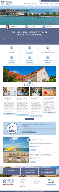 BGHC Website Overview